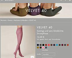 Screenshot Kunert Velvet 40