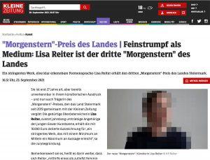 Screenshot kleinezeitung.at | Lisa Reiter